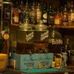 Rhums arrangés du bar de l'Auberge du Pêcheur à Groix
