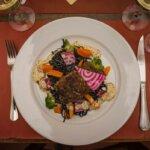 Plat principal du Restaurant de l'Auberge du Pêcheur à Groix