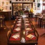 Salle du Restaurant de l'Auberge du Pêcheur à Groix