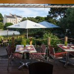 Terrasse du Restaurant de l'Auberge du Pêcheur à Groix