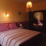 Chambre lit double des Chambres d'hôtes Hon Ty à Groix