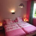 Chambre lits simples des Chambres d'hôtes Hon Ty à Groix