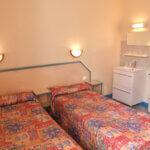 Chambre deux lits simples par le Moulin d'Or à Groix