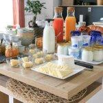 Petit-déjeuner des Chambres d'hôtes La Parenthèse de l'île de Groix