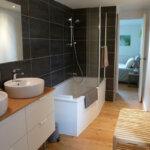 Salle de bain des Chambres d'hôtes La Parenthèse de l'île de Groix