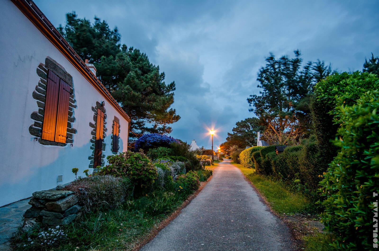 Village de Kerlivio à Groix