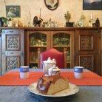 Salon de la maison d'hôtes Hon Ty à Groix
