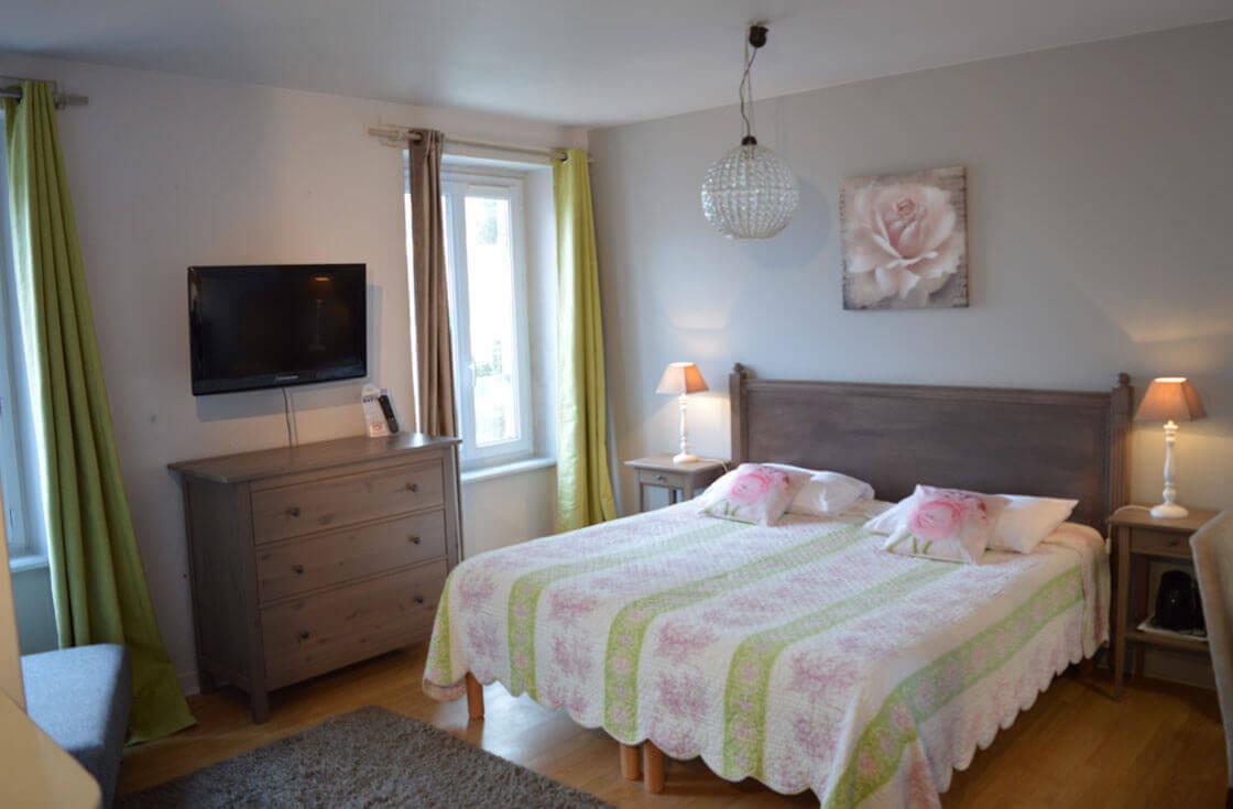 Chambre Premium Trois de l'Hôtel le Ty-Mad à Groix