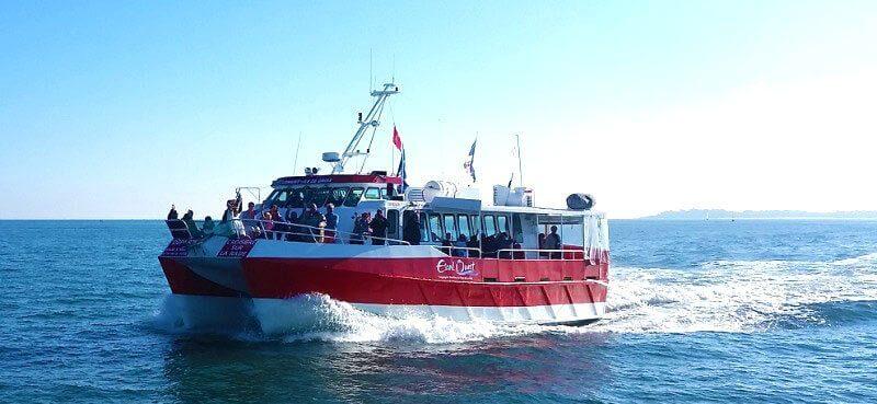 Ferry pour venir à Groix