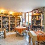 Cave à vins au restaurant le Cinquante à Groix