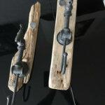 Décoration par Gwen-Art en bois flotté sur Groix