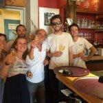 Equipe du bar et café Le Mojo à Groix