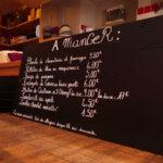 Petite restauration du bar et café Le Mojo à Groix