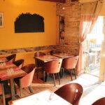 Salle du Safran restaurant traditionnel de fruits de mer à Groix
