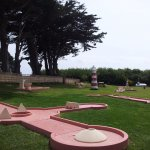 Parcours du Mini Golf de Groix