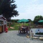 Terrasse du Mini Golf de Groix