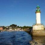 Arrivée à Groix avec Escal'Ouest compagnie maritime de Groix