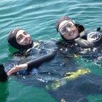 Bapteme de plongée avec le club de plongée Subagrec à Groix
