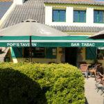 Jardin du Bar et Tabac Pop's Tavern à Groix