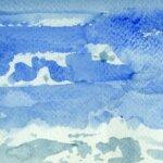 Ciel de Groix peint par les Aquarelles de Groix