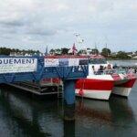 Ponton Escal'Ouest compagnie maritime de Groix