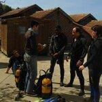 Formation avec le club de plongée Subagrec à Groix