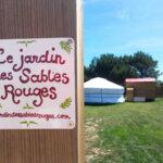 Entrée du Jardin des Sables Rouges à Groix