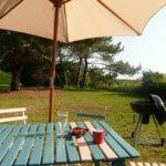 Barcbecue du Jardin des Sables Rouges à Groix
