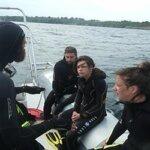 Sortie en mer avec le club de plongée Subagrec à Groix