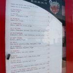 Carte des Pizzas du Caillou pizzas à emporter à Groix