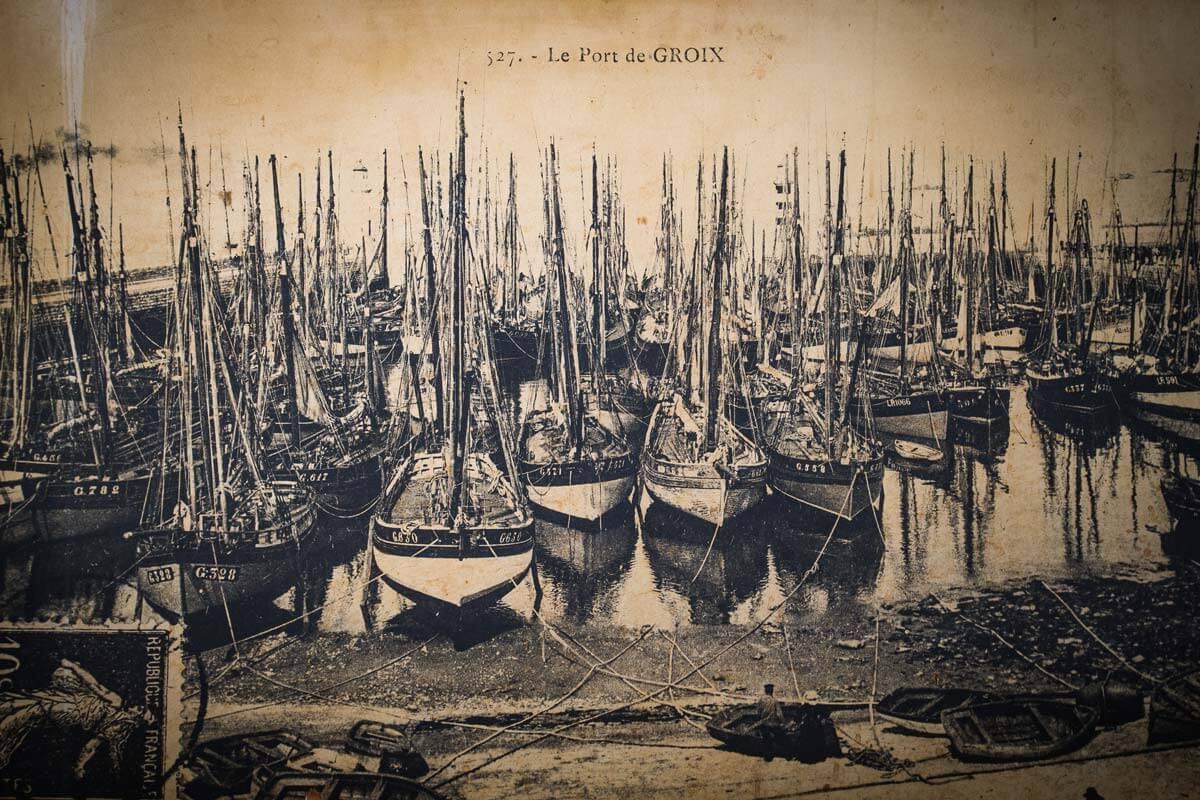 Premier Port Thonier dans l'Histoire de l'île de Groix