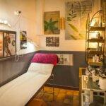 Salle de massage de l'institut de soin Ile et Elles à Groix