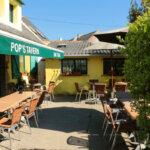 Terrasse du Bar et Tabac Pop's Tavern à Groix