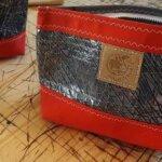 Sac rouge de la boutique Carnet de Bord à Groix