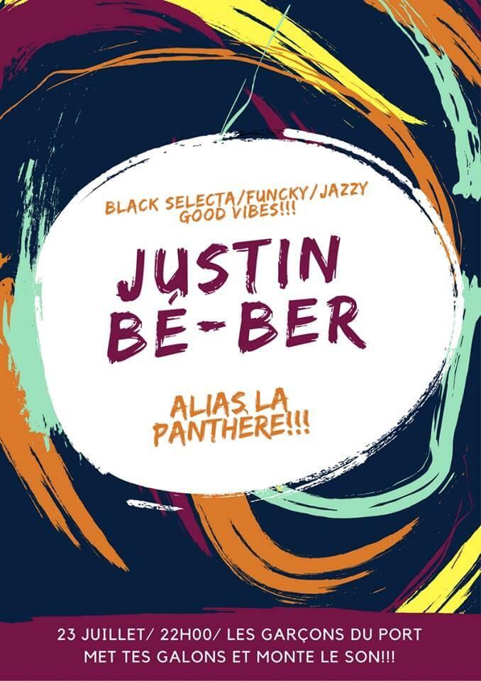 Concert Justin Be-ber au Garçons du Port