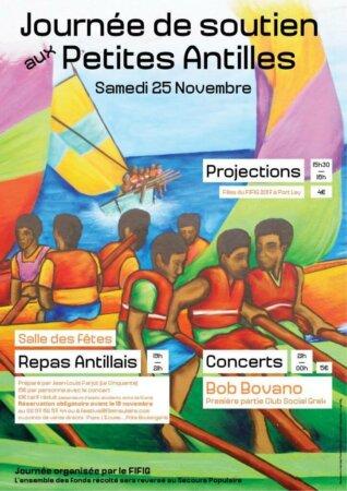 Journée de Solidarité aux Antilles par le FIFIG de Groix