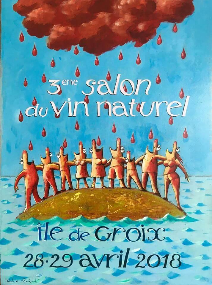 3ème édition du Salon du Vin Naturel de l'île de Groix