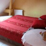 Une chambre des Chambres d'hôtes La Malicette de l'île de Groix