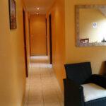 Le corridor-salon des Chambres d'hôtes La Malicette de l'île de Groix