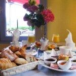 Petit déjeuner des Chambres de la Malicette sur l'île de Groix