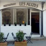 La façade du restaurant les Alizés de l'île de Groix