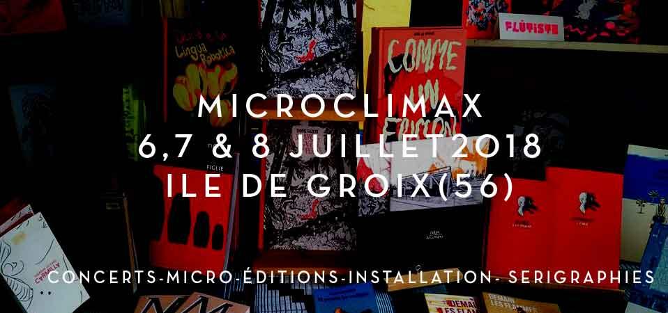 Festival Microclimax sur l'île de Groix