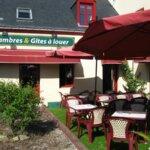 Restaurant La Malicette dans le village de Locqueltas à Groix