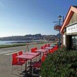 Bar et brasserie le Bar de la Plage sur l'île de Groix
