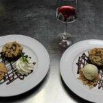 Dessert du restaurant les Alizés de l'île de Groix