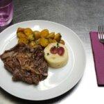 Plat 3 du restaurant les Alizés de l'île de Groix