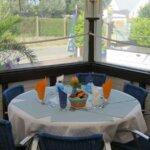 Table du Restaurant O Thon Bleu de l'île de Groix