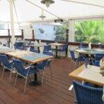 Terrasse du Restaurant O Thon Bleu de l'île de Groix