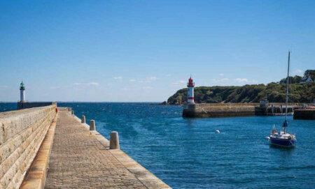 Le phares du Port Tudy de l'Ile de Groix