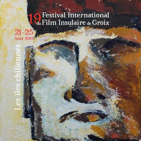 Affiche du Festival du film insulaire de Groix 2019